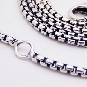 David Yurman Chain Necklace 925 Adjustable